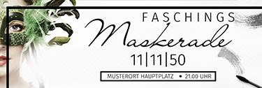 werbebanner-fasching-maskerade-schwarz
