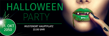 werbebanner-halloween-lips-gruen